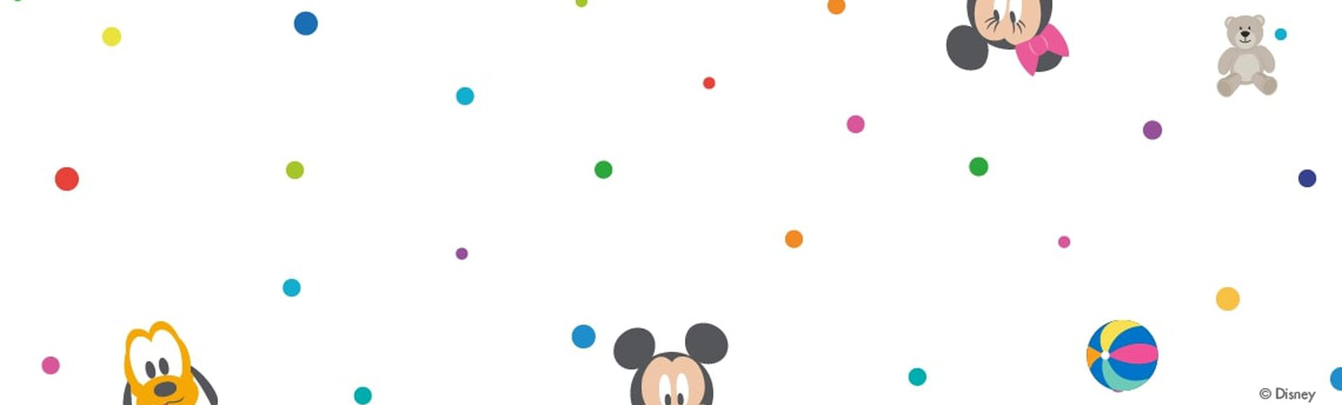 Banderines decorativos de Mickey y sus amigos
