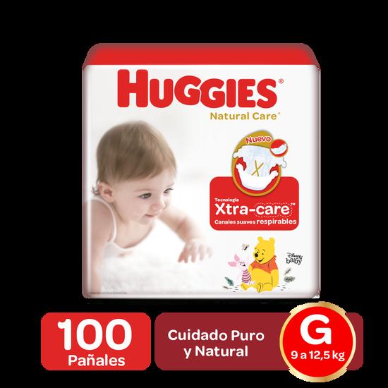 Pañales Huggies Natural Care Talla (M,G,XG,XXG)