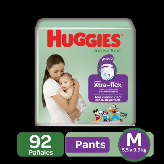 Pantaloncitos Huggies Active Sec Talla (M,G,XG,XXG)