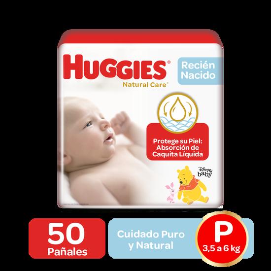 Pañales Huggies Natural Care Recien Nacido Talla (Prematuro, RN, P)